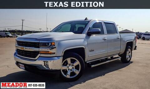 2016 Chevrolet Silverado 1500 for sale at Meador Dodge Chrysler Jeep RAM in Fort Worth TX