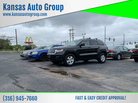 2012 Jeep Grand Cherokee for sale at Kansas Auto Group in Wichita KS