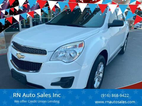 2015 Chevrolet Equinox for sale at RN Auto Sales Inc in Sacramento CA