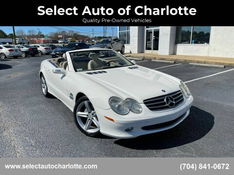 2005 Mercedes-Benz SL-Class for sale at Select Auto of Charlotte in Matthews NC
