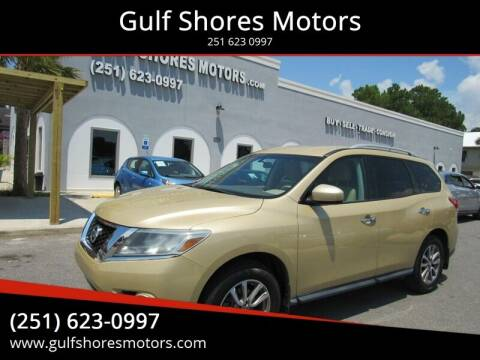 2013 Nissan Pathfinder for sale at Gulf Shores Motors in Gulf Shores AL