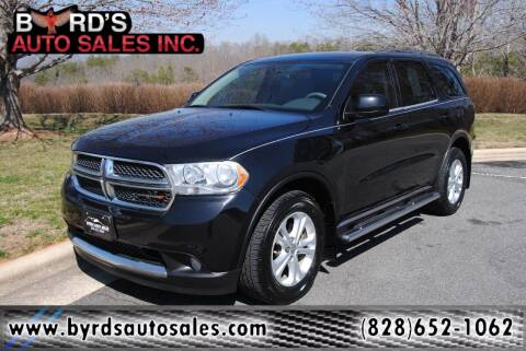 2013 Dodge Durango for sale at Byrds Auto Sales in Marion NC