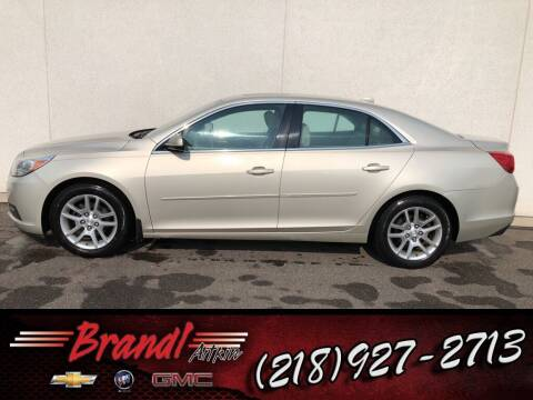 2013 Chevrolet Malibu for sale at Brandl GM in Aitkin MN