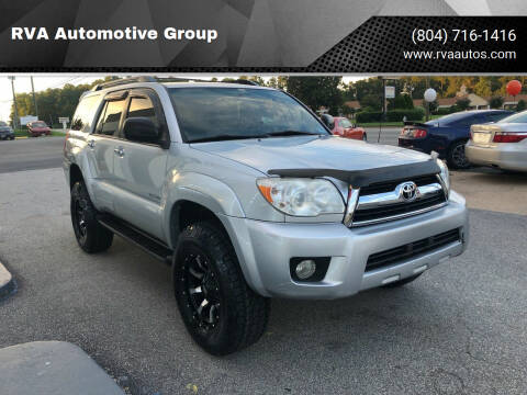 2007 Toyota 4Runner for sale at RVA Automotive Group in North Chesterfield VA
