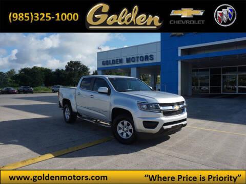 2016 Chevrolet Colorado for sale at GOLDEN MOTORS in Cut Off LA