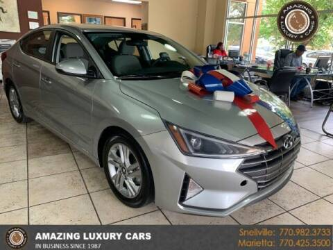 2020 Hyundai Elantra for sale at Amazing Luxury Cars in Snellville GA