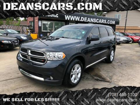 2013 Dodge Durango for sale at DEANSCARS.COM in Bridgeview IL