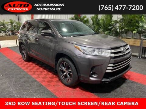 2019 Toyota Highlander for sale at Auto Express in Lafayette IN