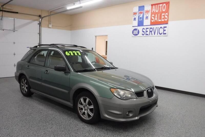 2006 Subaru Impreza for sale at 777 Auto Sales and Service in Tacoma WA