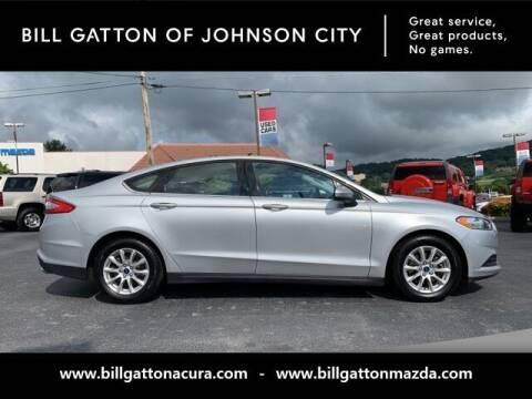 2016 Ford Fusion for sale at Bill Gatton Used Cars - BILL GATTON ACURA MAZDA in Johnson City TN
