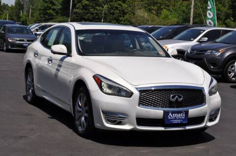 2015 Infiniti Q70 for sale at Amati Auto Group in Hooksett NH