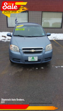 2007 Chevrolet Aveo for sale at Shamrock Auto Brokers, LLC in Belmont NH