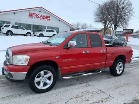 2007 Dodge Ram Pickup 1500 for sale at Efkamp Auto Sales LLC in Des Moines IA