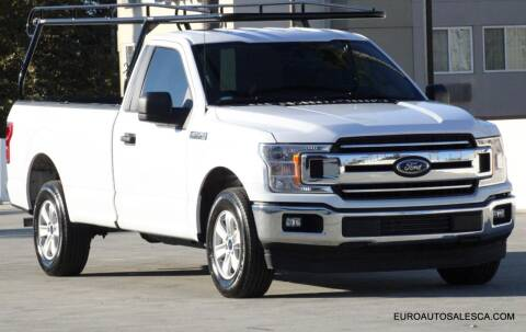 2019 Ford F-150 for sale at Euro Auto Sales in Santa Clara CA