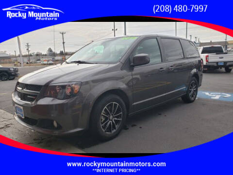 2019 Dodge Grand Caravan for sale at Rocky Mountain Motors in Idaho Falls ID
