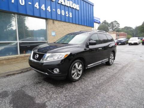 2013 Nissan Pathfinder for sale at Southern Auto Solutions - 1st Choice Autos in Marietta GA