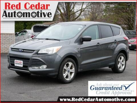 2015 Ford Escape for sale at Red Cedar Automotive in Menomonie WI