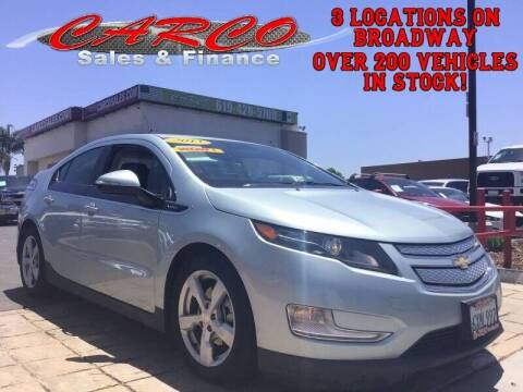 2013 Chevrolet Volt for sale at CARCO SALES & FINANCE #3 in Chula Vista CA