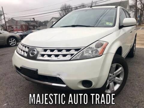 2007 Nissan Murano for sale at Majestic Auto Trade in Easton PA