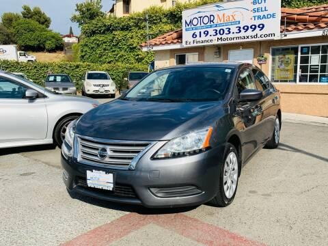 2015 Nissan Sentra for sale at MotorMax in Lemon Grove CA
