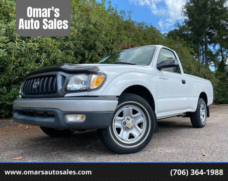2004 Toyota Tacoma for sale at Omar's Auto Sales in Martinez GA