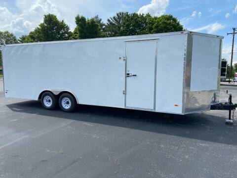 2021 Freedom 8.5 x 24 V Nose Enclosed Cargo for sale at STOP N GO MOTORS - Enclosed Trailers in Maryville TN