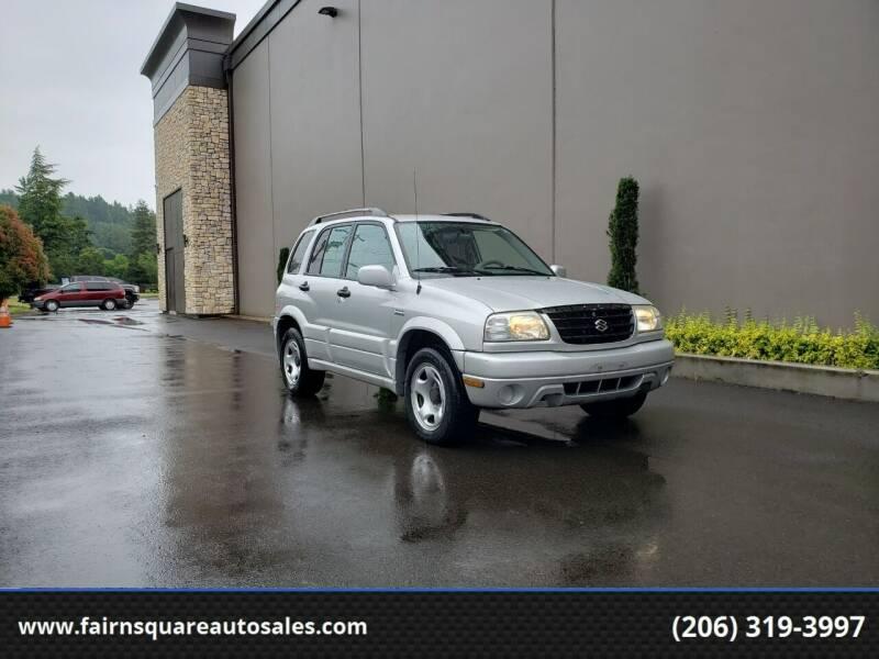 2002 Suzuki Grand Vitara JLX