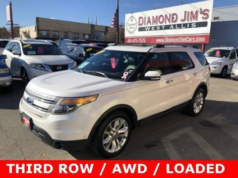 2014 Ford Explorer for sale at Diamond Jim's West Allis in West Allis WI