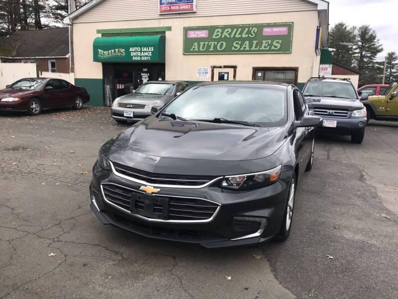2017 Chevrolet Malibu for sale at Brill's Auto Sales in Westfield MA