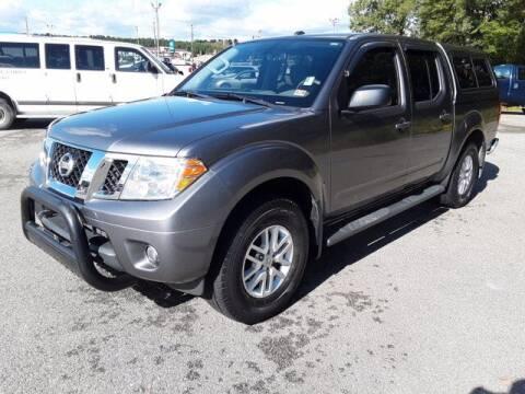 2018 Nissan Frontier for sale at Strosnider Chevrolet in Hopewell VA