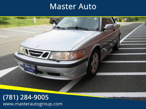 2003 Saab 9-3 for sale at Master Auto in Revere MA