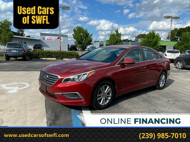 2016 Hyundai Sonata for sale at Used Cars of SWFL in Fort Myers FL