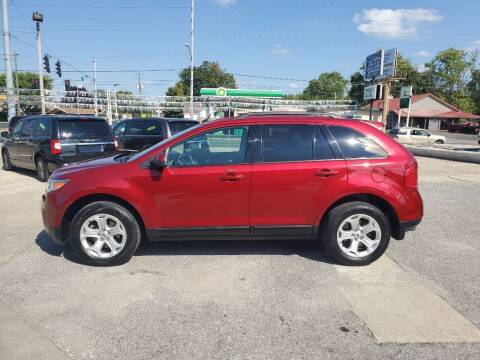 2013 Ford Edge for sale at Bob Boruff Auto Sales in Kokomo IN