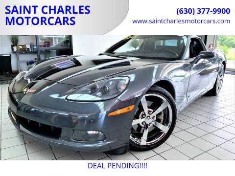 2009 Chevrolet Corvette for sale at SAINT CHARLES MOTORCARS in Saint Charles IL