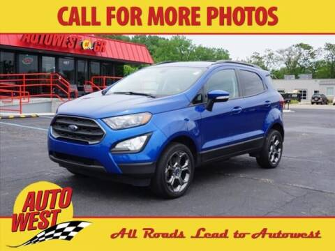 2018 Ford EcoSport for sale at Autowest of Plainwell in Plainwell MI
