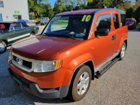 2010 Honda Element for sale at LMJ AUTO AND MUSCLE in York PA