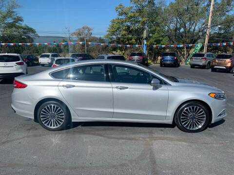 2017 Ford Fusion for sale at MAGNUM MOTORS in Reedsville PA