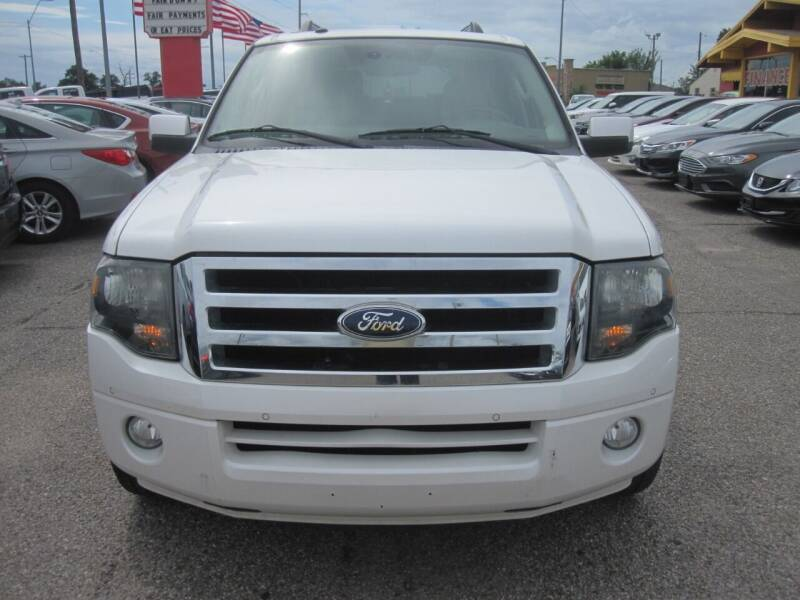 2012 Ford Expedition EL for sale at T & D Motor Company in Bethany OK