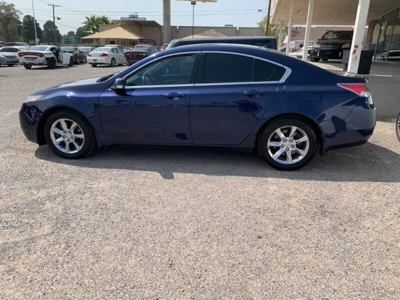 2014 Acura TL for sale at 4 U MOTORS in El Paso TX