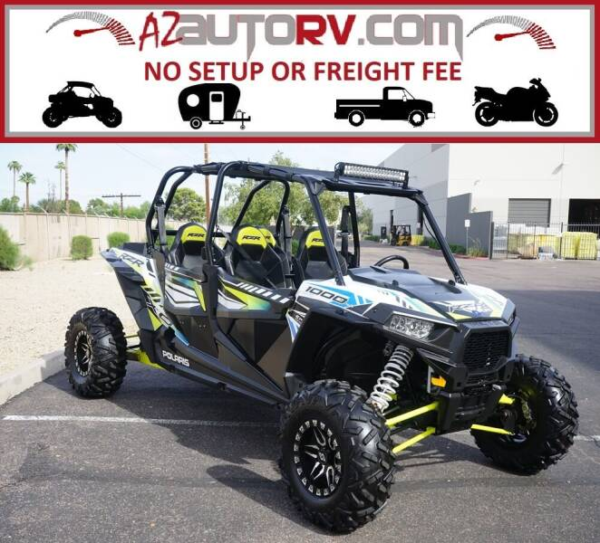 2017 Polaris RZR XP 1000 EPS for sale at AZautorv.com in Mesa AZ