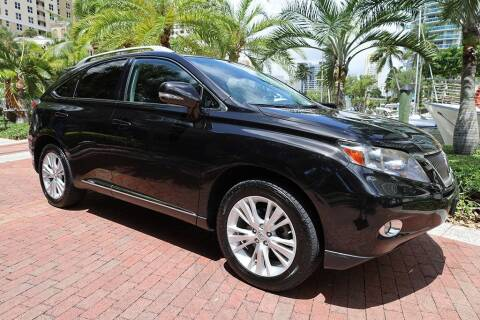 2012 Lexus RX 450h for sale at Choice Auto in Fort Lauderdale FL