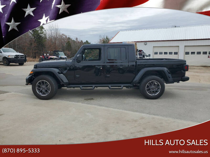 2020 Jeep Gladiator for sale at Hills Auto Sales in Salem AR