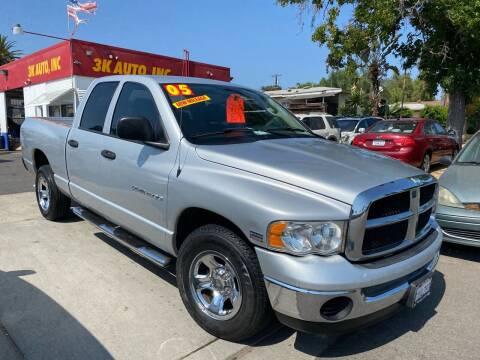 2005 Dodge Ram Pickup 1500 for sale at 3K Auto in Escondido CA