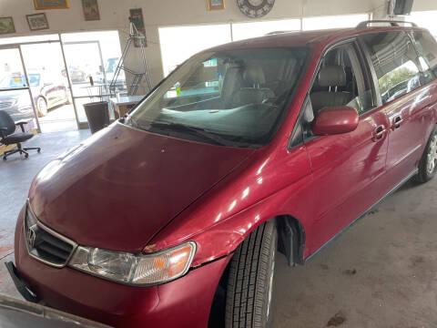 2002 Honda Odyssey for sale at PYRAMID MOTORS - Pueblo Lot in Pueblo CO