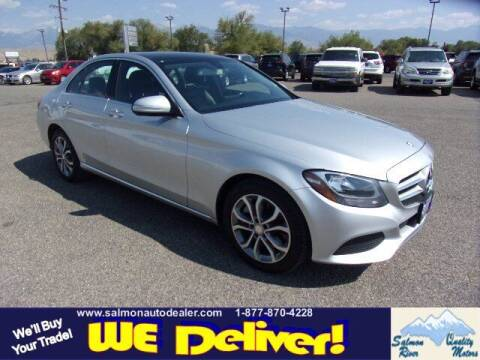 2015 Mercedes-Benz C-Class for sale at QUALITY MOTORS in Salmon ID