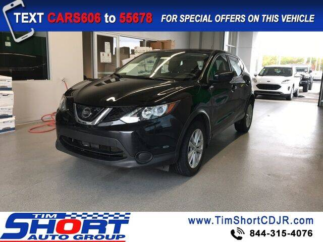 2018 Nissan Rogue Sport for sale at Tim Short Chrysler in Morehead KY