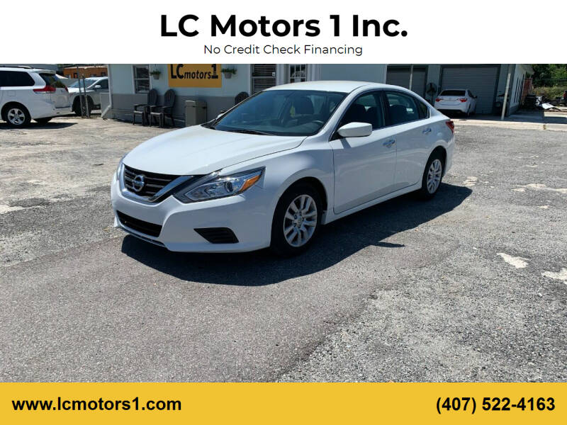 2018 Nissan Altima for sale at LC Motors 1 Inc. in Orlando FL