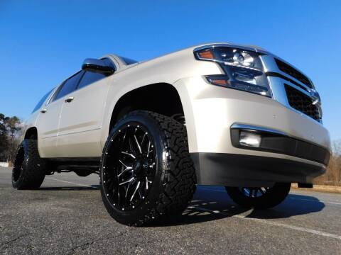2015 Chevrolet Tahoe for sale at Used Cars For Sale in Kernersville NC