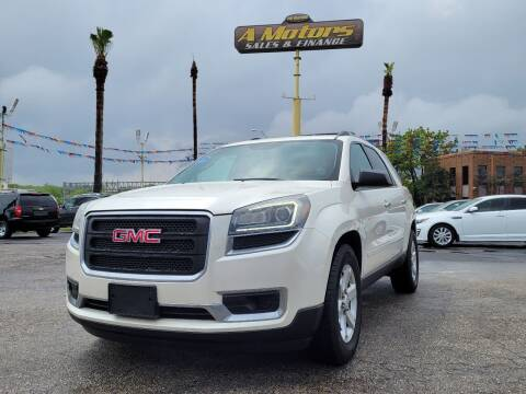 2015 GMC Acadia for sale at A MOTORS SALES AND FINANCE in San Antonio TX