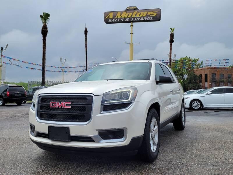 2015 GMC Acadia for sale at A MOTORS SALES AND FINANCE - 6226 San Pedro Lot in San Antonio TX